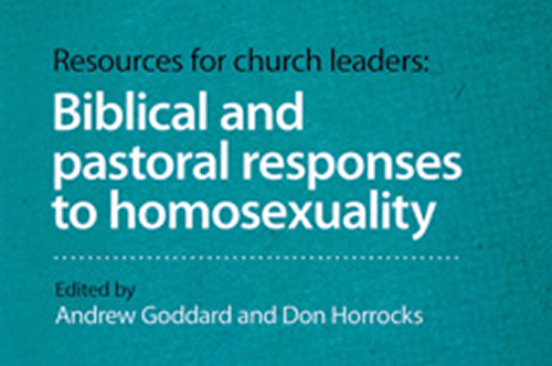 Biblical and pastoral responses to homosexuality (book reviews)