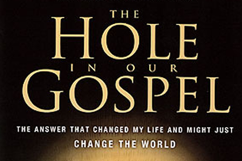 The Hole in our Gospel (book reviews)