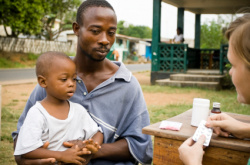 MDG 4 - a world of difference for child health (article)