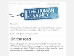 Latest News from the Human Journey